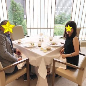 <東京>久しぶりのレストランでのランチ。