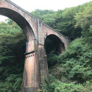 <軽井沢>眼鏡橋ー碓氷湖