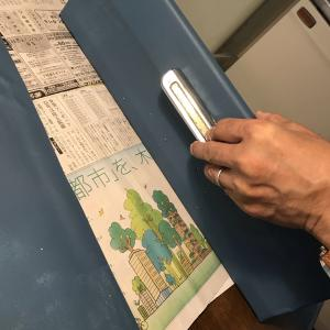 軽井沢のホーロー製キッチン扉に青を。vol.2