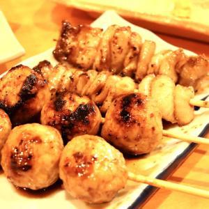 【食べあるき】串焼き だもんで(沼津駅南口)〜目の前で焼いてくれる串焼きが絶品!人気の居酒屋さんで晩ごはん
