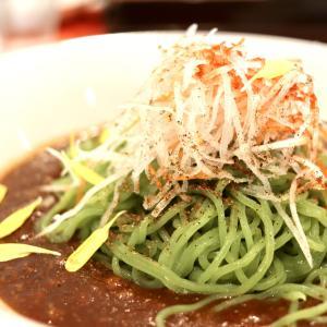 【食べあるき】中国料理 いーある(伊豆の国市)〜緑色が鮮やか!月替りメニューの翡翠炸醤麺でランチ