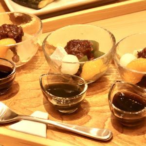 【食べあるき】甘味処 伊豆河童(三島広小路) 〜伊豆の天草と富士山湧水が決め手、3種のあんみつをいただく