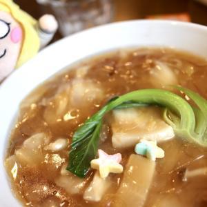 【食べあるき】中国料理 いーある(伊豆の国市田京)フカヒレたっぷりのあんかけラーメン!ゴージャスな「シャイニーオハラーメン」をいただく