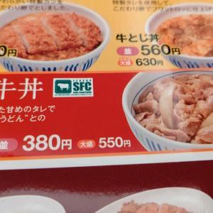 【なか卯】和風牛丼(並盛)