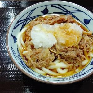 【丸亀製麺】鬼おろし肉ぶっかけ