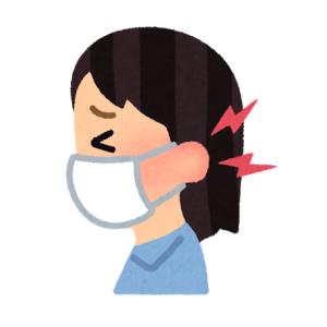 マスクで耳が痛い人に、これを使ってみてほしい。って話