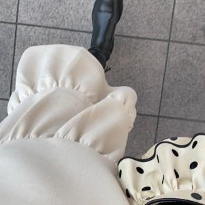 Outfit♡毛布を着てるように暖かい裏起毛ワンピ