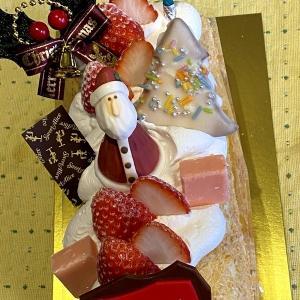 メリークリスマス!!ケーキとともに