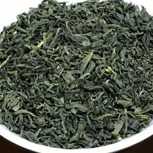 暑さに熱い釜炒り茶で夏バテ防止