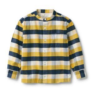 無印 キッズ用シャツを購入 レディースは色がつまらない。
