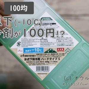 【100均】氷点下(-10℃)保冷剤が発売!100円タイプと200円タイプがありました!