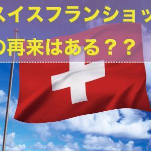 スイスフランショックの再来がある?