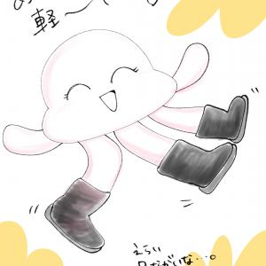 【漫画でPR】THE NORTH FACEのブーツ履いてみた!