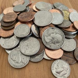コインスターは便利だけど手数料が高い?アメリカで貯まった硬貨を両替する方法