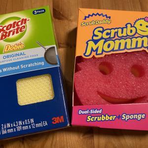アメリカで見つけた使いやすいキッチンスポンジ!おすすめはドビーとスクラブマミー