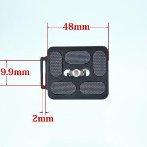 [レビュー]047 INPON アルカスイス互換 クイックリリースプレート 48mm ストラップホール付き