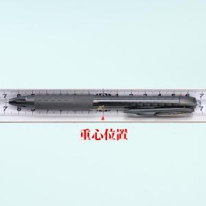 ユニボール シグノ307 の重心を測ってみた ゲルボールペン 三菱鉛筆 [重心計測]053