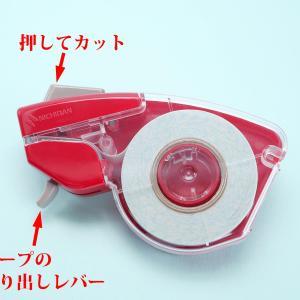 片手で使えるテープカッター、ニチバン プッシュカットはどんな構造?