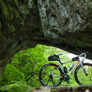 【車載輪行】ロードバイクで帝釈峡サイクリング(広島県庄原市)「世界三大の天然橋」