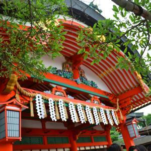 京都観光(伏見稲荷大社・本殿)