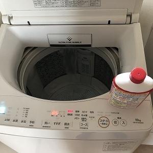 洗濯機 洗濯槽洗浄