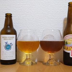 志賀高原ビールのSHIGA KOGEN HELLES!?と大子ブルワリー やみぞの森 Hellesを飲み比べてみました。