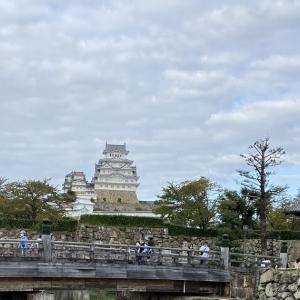 姫路城までチャリチャリコギコギ