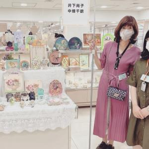 トールペイントカーニバル名古屋三越栄店、終了いたしました。