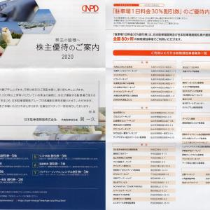 日本駐車場開発から株主優待が到着