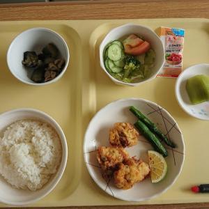 2020年10月25日 本日退院、想ひ出の病院食を振り返る