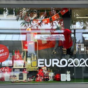 EURO2020開始、町の様子と我が家では・・