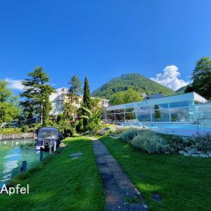 ソルトバスが魅力 湖岸のスパリゾートをご紹介(スイス・トゥーン湖)