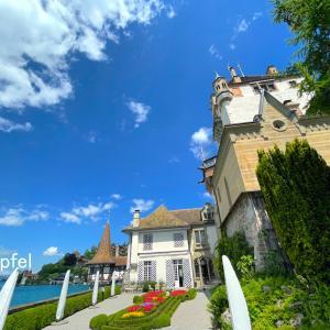 中世のお城は魅力がいっぱい(スイス・トゥーン湖畔 オーバーホーヘン城)