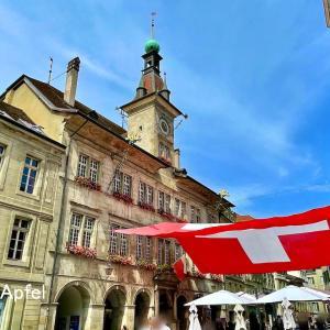 スイス ローザンヌ街歩き