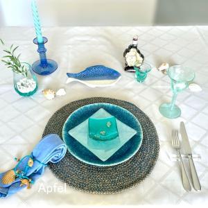 エーゲ海に想いを馳せて〜夏のテーブルコーディネート
