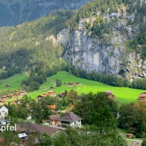 世界ふしぎ発見!に登場したスイス(3)シュタウプバッハの滝 Staubbachfall
