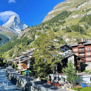 スイス ツェルマットの村(2)