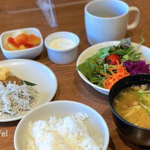 鎌倉にできた新しいホテルに宿泊 〜 MUJIカフェの朝食