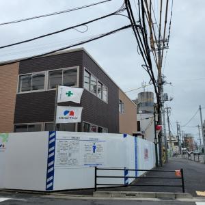 布田駅前に建設中の施設はファインケア(介護施設)だそうです
