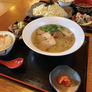 肴家 つかさ ランチに会津山塩ラーメンを食べる 会津美里