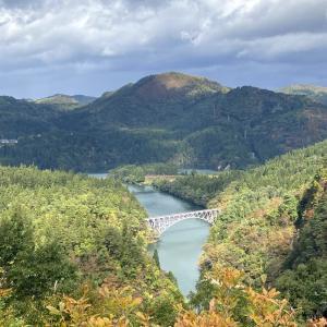 只見川ビューポイント 第一橋梁 おまけ金山町の第四橋梁