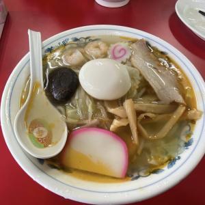 中ノ沢温泉 小西食堂 五目ラーメン、味噌タンメン、餃子
