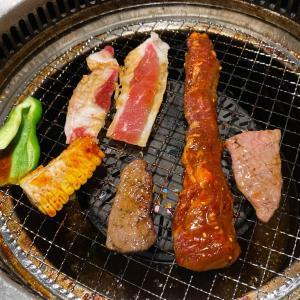 焼肉きんぐ 会津若松店で誕生日の夕食
