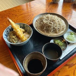 そば処 彦いち 天丼と蕎麦 会津若松ランチ