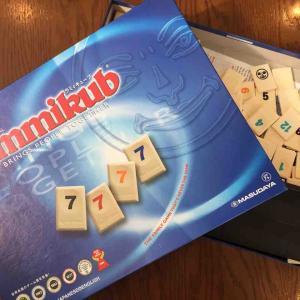 6歳とボードゲーム「ラミィキューブ」