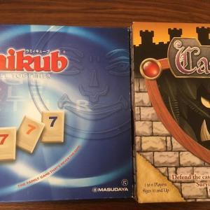 6歳長男とのボードゲーム(キャッスルパニック,ラミィキューブ)(子供とボードゲーム)
