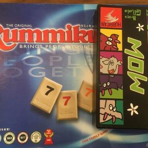 6歳長男とのボードゲーム(ラミィキューブ,MOW)(子供とボードゲーム)