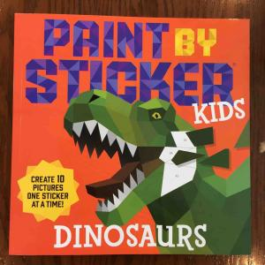 Paint by Sticker Kidsの新作!Dinosaurs!