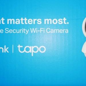 ネットワークカメラ TP-Link tapo TC70の初期設定