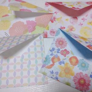 【簡単】可愛さ満点!折り紙で手作り封筒